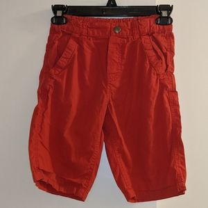H&M sz 7-8 soft red shorts